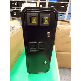 Over/Under Door with Cashbox and Full Metal Cashbox Enclosure