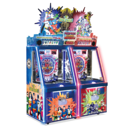 DC Superheroes Arcade Pusher - 2 Player