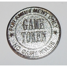 27mm Generic Amusement Tokens 500/bag