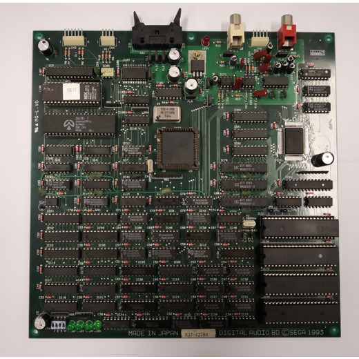 Sega Touring Car Sound PCB